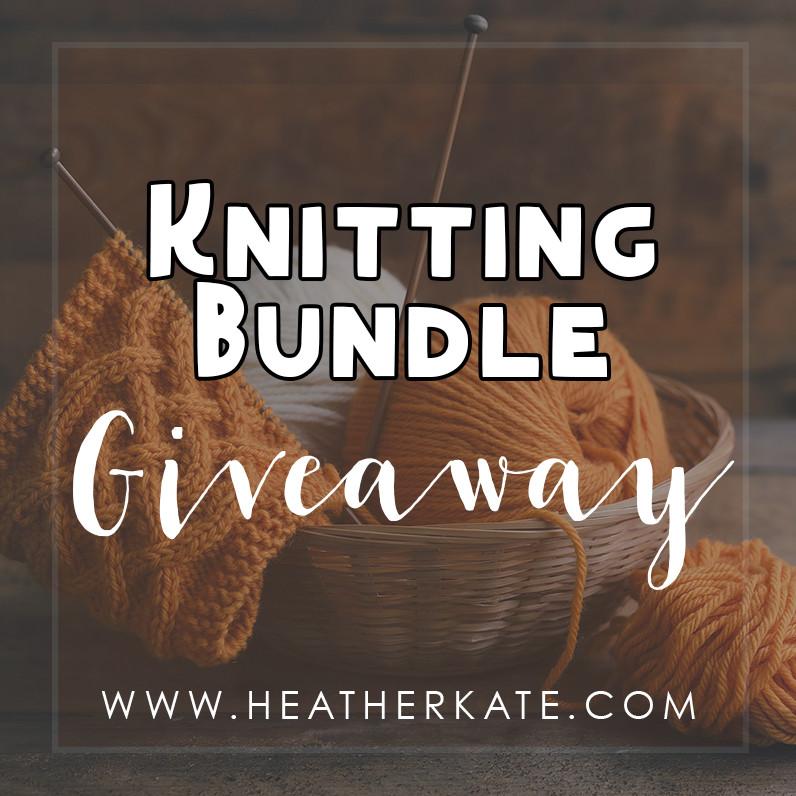 Knitting Bundle Giveaway